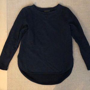 J Crew High Low Sweatshirt